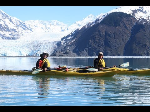 Harriman Fjord paddle - Prince William Sound Alaska