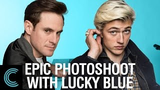 Epic Photoshoot with Top Model Lucky Blue