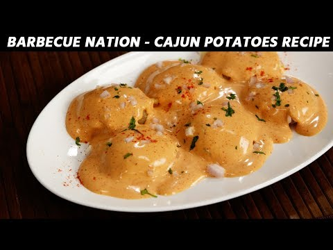Cajun Spiced Potatoes Barbeque Nation Style Recipe CookingShooking