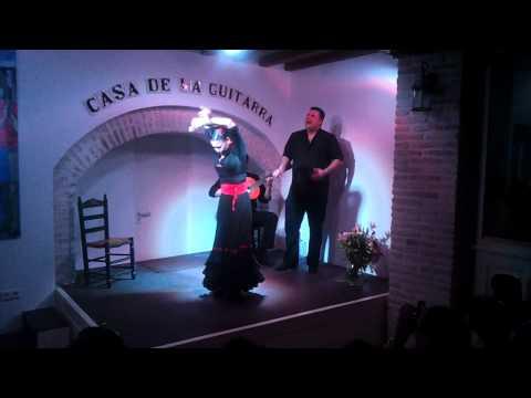Casa de la Guitarra Sevilla. Manuel Romero, Yasaray Rodriguez y Javi Gómez