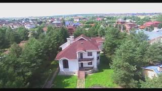 Уникальный дом на берегу Москва-реки в поселке Белый берег (Островцы). Красивейшее видео!