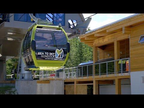 Sea to Sky Gondola Experience Squamish near Vancouver Canada