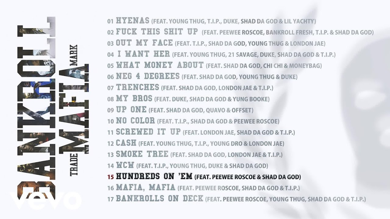 Download Bankroll Mafia - Hundreds on 'Em (Audio)