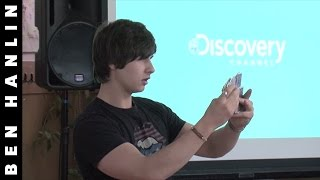 Amazing Card Trick - Discovery Channel - Magic of Science | Ben Hanlin
