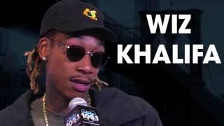 Wiz Khalifa Smokes Backstage At Power 105.1's Powerhouse And Chats New Album