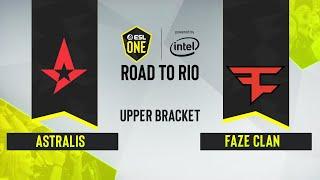 CS:GO - Astralis vs. FaZe Clan [Inferno] Map 2 - ESL One: Road to Rio - Upper Bracket Final - EU