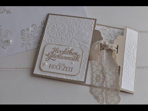 Serie Gewellter Anhanger Teil 2 Hochzeitskarte Stampin Up