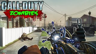 Call of Duty Zombies - PARALYZER ON NUKETOWN MOD! (Black Ops Zombies Gameplay)