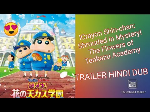 Download Crayon Shin-chan: Shrouded in Mystery! The Flowers of Tenkazu Academy trailer hindi dub