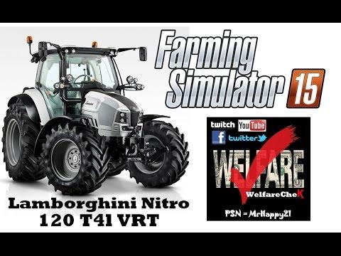 Farming Simulator 15 Ps4 Lamborghini Nitro 120 T4l Vrt Showcase