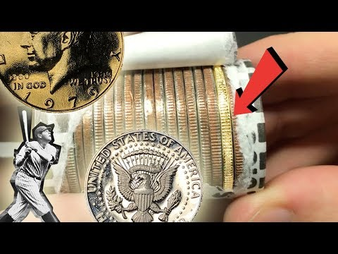 CALLING MY SHOT - GOLD & PROOF COINS FOUND Half Dollar Coin Roll Hunting