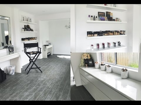 MAKEUP STUDIO TOUR! | 2016