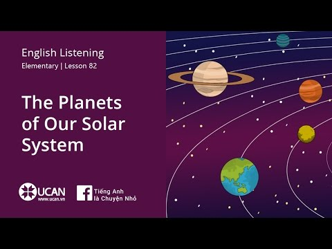 Learn English Listening | Elementary - Lesson 82. The Planets of Our Solar System