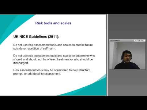 Professor Nav Kapur - Practical solutions for preventing suicide in healthcare and other settings