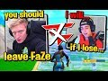 TFUE & CLOAKZY 1v1 to *LEAVE* FaZe Clan! (Fortnite)