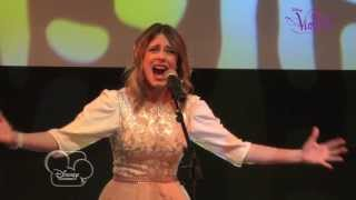 "Showcase Violetta - ""Te creo"" (version acoustique) - Exclusivité Disney Channel !"