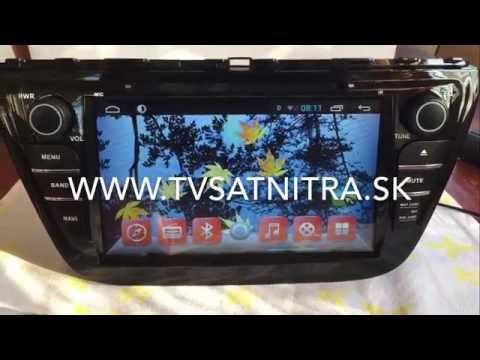 Multimedia radio Suzuki S-Cross- Android systems