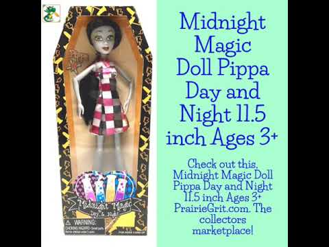 Midnight Magic Doll Pippa Day And Night 11.5 Inch Ages 3+