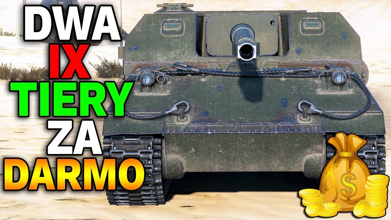 DWA IX TIERY ZA DARMO  – World of Tanks