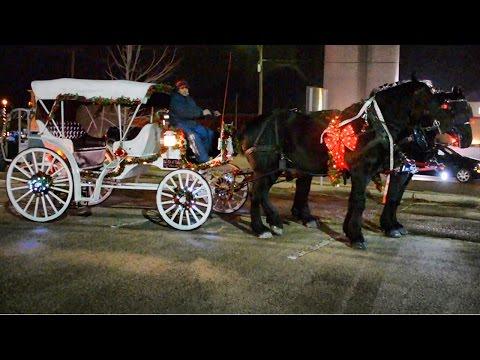 Holiday Horse Parade Greenville Ohio