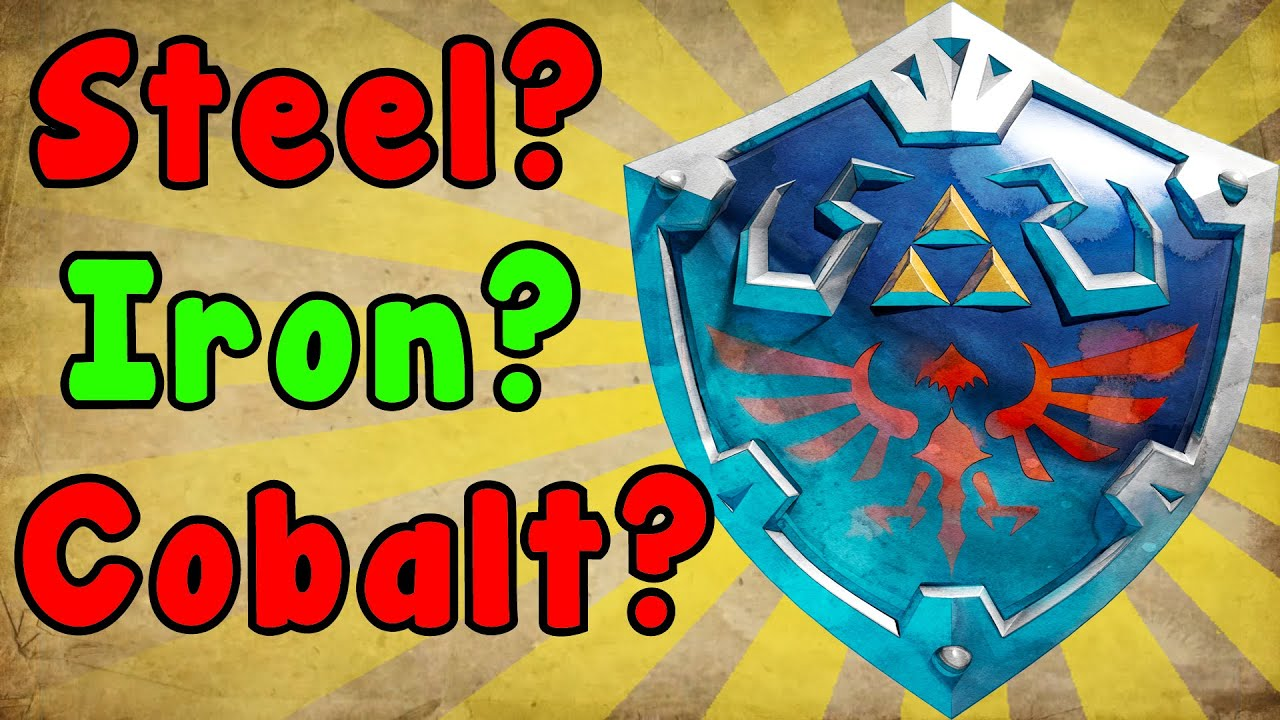 zelda theory what is the hylian shield made of youtube