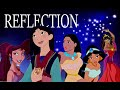 Disney Girls Reflection (Christina Aguilera)