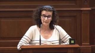 Asun Delgado (Podemos) sobre la Cuenta General de la Comunidad Autónoma de Canarias