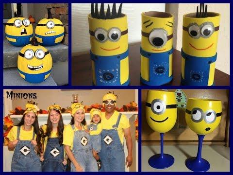 DIY Minion Crafts Ideas - Minion Crafts for kids