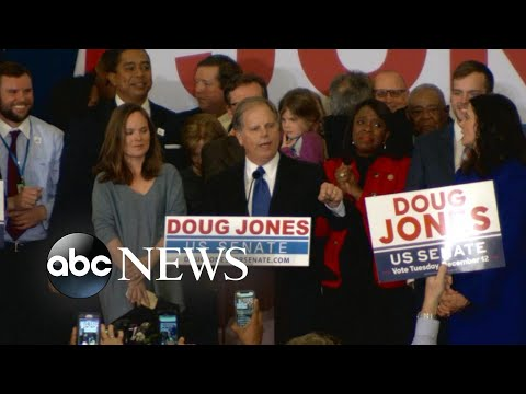 Download Youtube: Doug Jones wins Alabama Senate race
