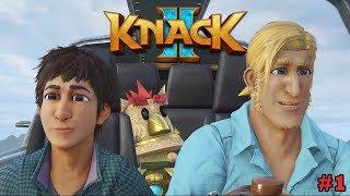 KNACK 2 #1   O INICIO DA AVENTURA (PS4 PRO/PORTUGUÊS)