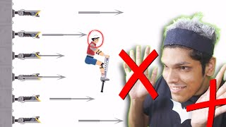 playing happy wheels WITHOUT HANDS