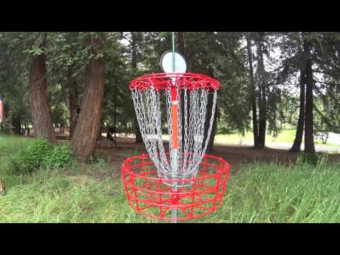 Hillcrest Park disc golf demo Concord Ca