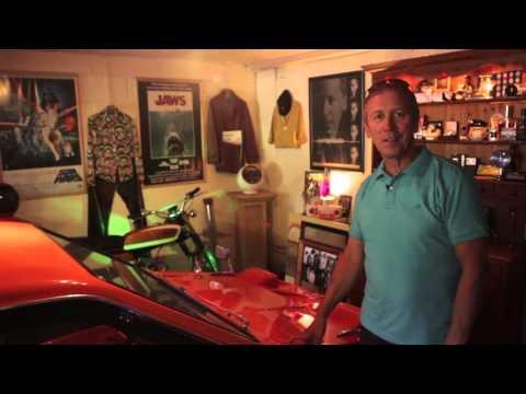 Paul Hardcastle and his Ferrari 328 GTS