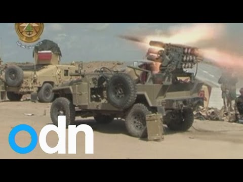 Iraq forces ramp up offensive to retake Tikrit from Islamic State