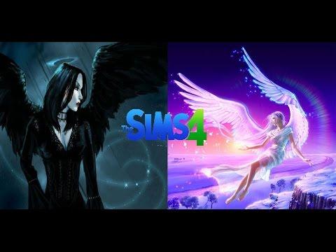 Создание персонажа: ангел и демон (падший ангел)