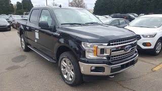 2019 Ford F150 XLT - Agate Black - First Look!