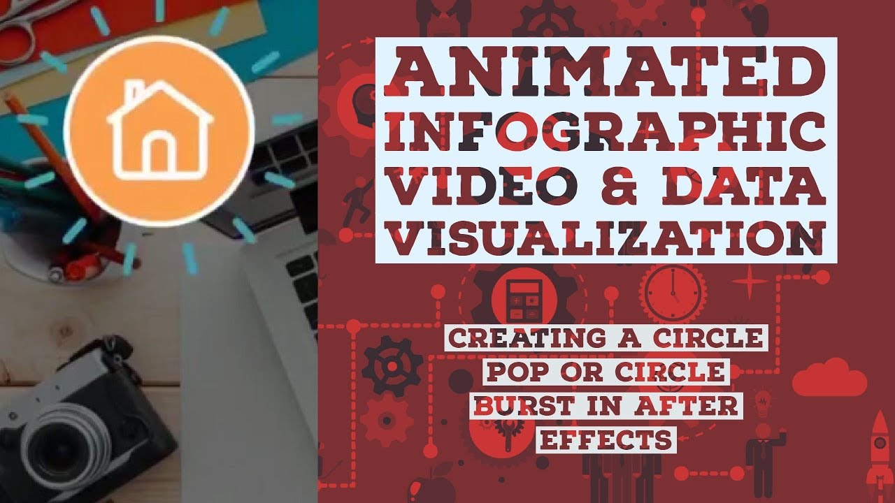 Creating a circle pop or circle burst in After Effects - Animated Infographic Tutorial [14/48]