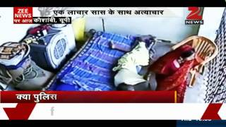 Caught on camera: UP woman assaults paralysed mother-in-law