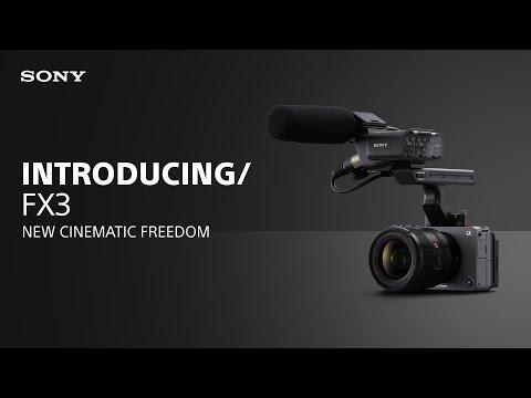 Introducing the Sony FX3 Cinema Line
