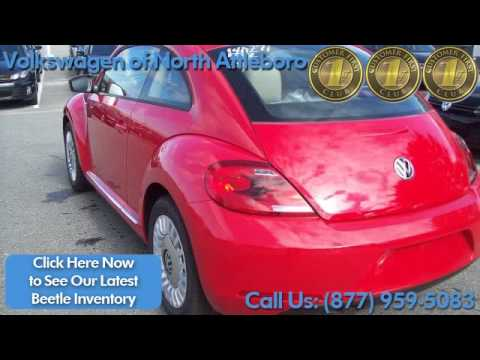 red |Volkswagen Beetle | automatic transmission