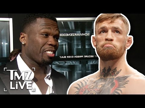 50 Cent Attacks Conor Mcgregor | TMZ Live