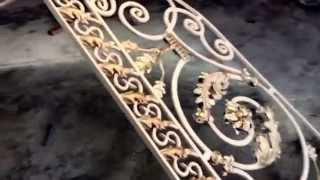 Кованые перила. Наш сайт kovec.ru(Кованые перила для вашей лестниц. Номер 89634000668., 2015-11-26T20:15:26.000Z)