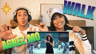 Agnes Monica (Agnezmo) - WALK (Official Video Clip) - REACTION