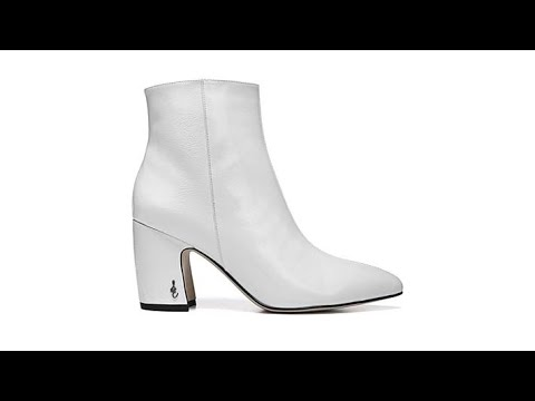e3fc793b6 Sam Edelman Leather or Suede Hilty Bootie - YouTube