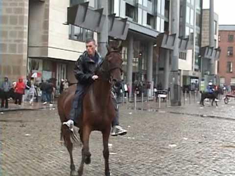 "Smithfield (Dublin) Horse Market ""Smithfield Horse Fair"""