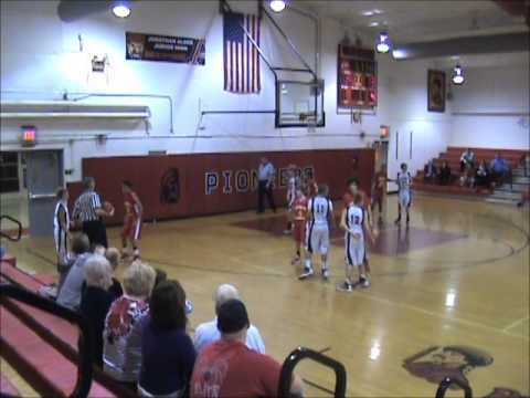 JA Jr. High 7th Grade - 2012-12-17 -vs- Worthington Christian.wmv