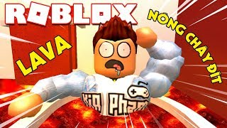 Roblox | THERE Was A BATH In The HOT LAVA BURNS YOUR ASS-The Floor Is LAVA | Kia Breaking