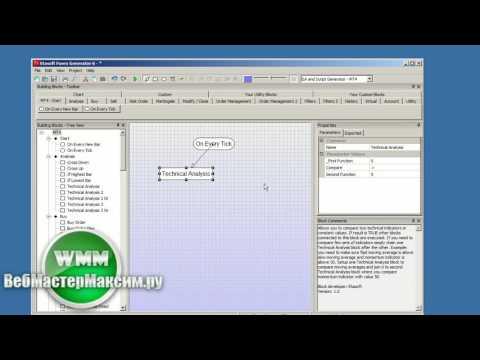 Forex Ea Generator, как установить и пользоваться./Forex Ea Generator How To Install And Use.