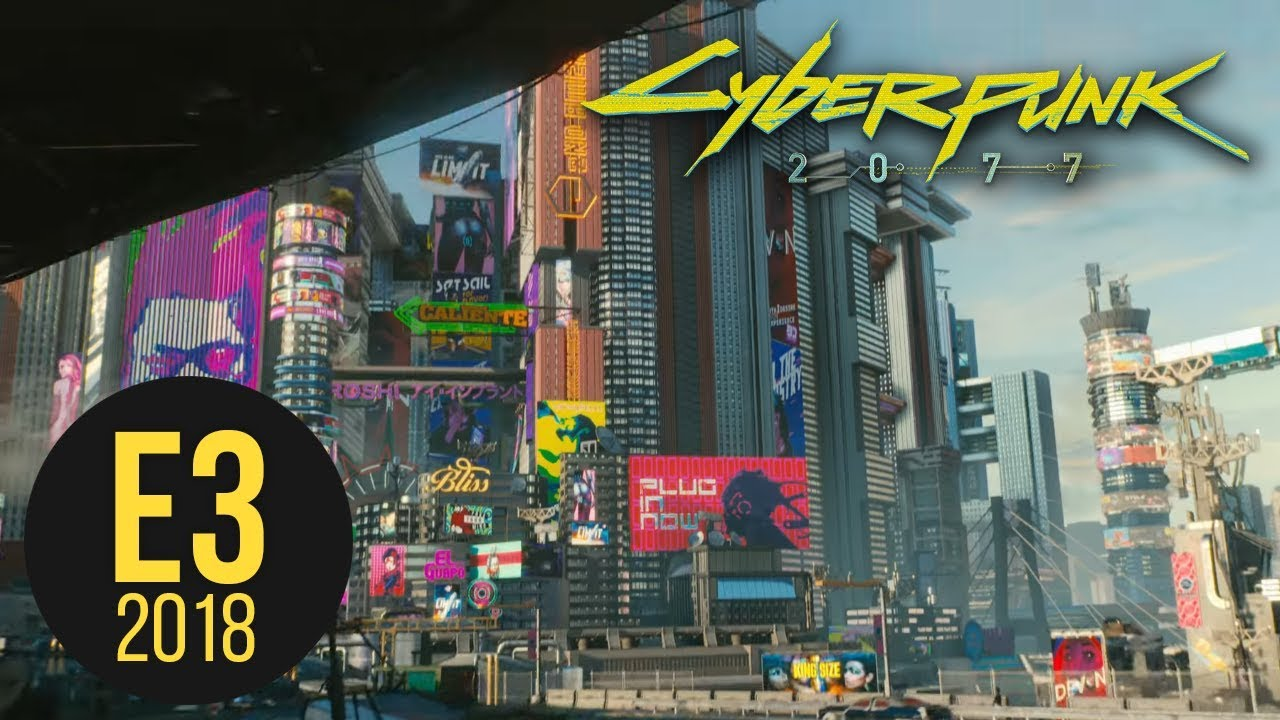 Cyberpunk 2077's Trailer Thoughts - E3 2018