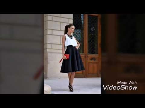 fceac393029 Faldas tipo campana - YouTube